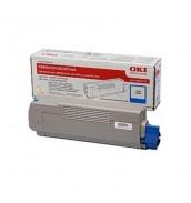 43865723/43865743 Тонер-картридж синий для принтеров OKI С5850/ C5950/ MC560 (6000 стр)