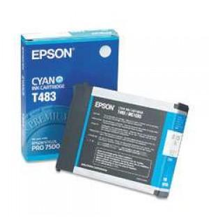 T483 / T483011 Картридж для Epson Stylus Pro 7500, Cyan (