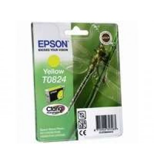 T08244A совместимый картридж для Epson Stylus Photo R270/ R290/ R390/ Photo 1410, RX590. Yellow (