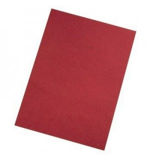 Обложки для переплёта задние A4, тиснение под кожу, цвет красный, 250 г/кв.м, Hama (25 шт.) H-52617