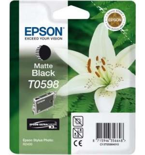 T0598 / T059840 OEM Картридж для Epson Stylus Photo R2400 MBk (440 стр.)