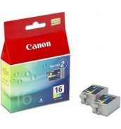 BCI-16Color [9818A002] Чернильницы для Canon SELPHY DS700/ DS810, PIXMA iP90 (75 стр. 10x15) 2шт.