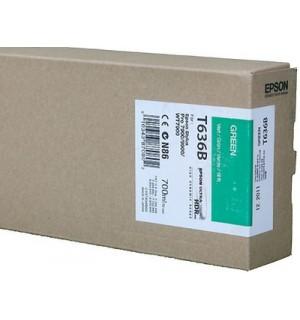 T636B / T636B00 Картридж для Epson Stylus Pro 7900/9900 Green( 700 ml )