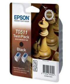 S020189 / T051142 / S020108 / S020207 Картридж для Epson Stylus Color740/ 760/ 1160/ 800/ 840/ 850/ 1520 черн. ОРИГИНАЛ, 1 шт.