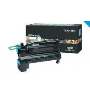 C792X1CG Лазерный картридж Lexmark C792 Cyan Extra High Yield Return Program