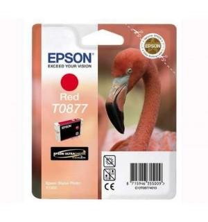T0877 / T08774010 OEM Картридж EPSON Stylus Photo R1900 Red (Ultra Chrome)