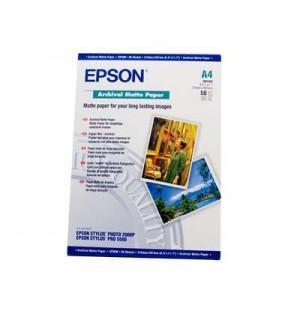 S041342 Бумага Epson Archival Mate Paper, A4, 192 г/ м2, (50 л.)
