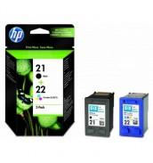 SD367AE HP 21/22 Чернильные картриджи Bl...