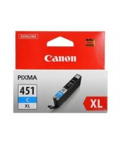 CLI-451XLC [6473B001] Картридж Голубой для PIXMA MG5440/MG5540/MG6340/MG6440/MG7140, iP7240, iP8740, MX924. 700 страниц.