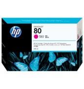 Уцененный пурпурный картридж C4847A HP 80 плоттера HP DesignJet 1050с/ с+/ 1055cm/ cm+ (350 ml) Magenta
