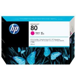 C4847A HP 80 Картридж для плоттера HP DesignJet 1050с/ с+/ 1055cm/ cm+ (350 ml) Magenta