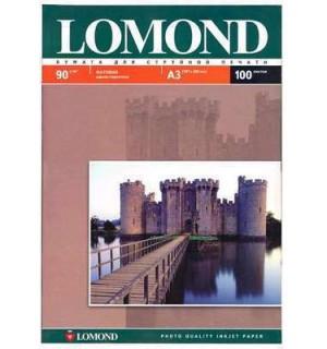 090 Бумага LOMOND A3  INC JET 090 г/ м2 100 л. матовая [0102011]