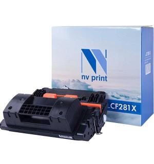 CF281X Совместимый Картридж NV Print 81X Black для HP LJ Enterprise Flow MFP M630dn/M630f/M630h/M630z (25000 стр.)
