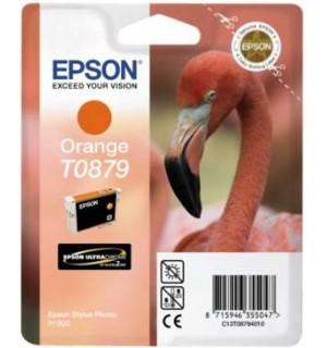 T0879 / T08794010 OEM Картридж EPSON Stylus Photo R1900 Orange (Ultra Chrome)