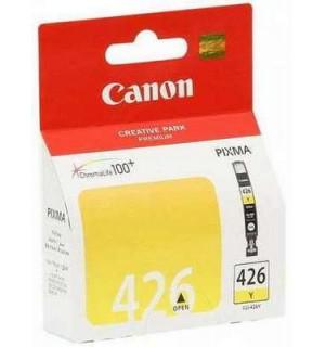 CLI-426Y [4559B001] Картридж желтый (чернильница) для PIXMA Series IP4840/ 4940, MG5140/ 5240/ 6140/ 8140/ 8240, MX894/ ix6540/  714