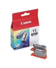 BCI-15BK [8190A002] Чернильницы для Canon i70/ i80/ ip90/ip90v Black (185 стр. при 5% зап.) упаковка 2шт.