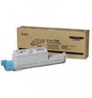 106R01218 Тонер-картридж повышенной емкости голубой для Phaser 6360 (12000 стр.)