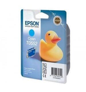 T0552 / T055240 Картридж для Epson Stylus Photo R240/245; RX400/420/425/520/540 Cyan (290 стр.)