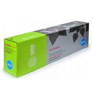 CB383A совместимый Картридж Cactus CS-CB383A для HP Color LJ CM6030/CM6030f /CM6040 MFP/CP6015dn /CP6015n/CP6015xh, Magenta (21000 стр.)