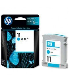 C4836A HP 11 Картридж (Cyan) для HP cp1700, busines inkjet серий 1000/ 1100/ 1200/ 2200/ 2230/ 2250/ 2280/ 2600/ 2800, designjet 10ps/ 20ps/ 50ps/ 70/ 100/ 100+/ 111/ 120ps/ psn; Officejet Pro K550/ 850 (Cyan)/ Ресурс: 1750стр.