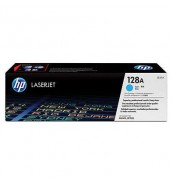 CE321A HP 128A Kартридж голубой для HP LJ для PRO CM1415fn; CP1525N/CP1520 /CP1525NW (1300стр)