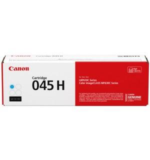 Canon Cartridge 045 H C [1245C002] голубой повышенной емкости для Canon i-SENSYS LBP-611Cn, 613dw, MF632Cdw, 635Cx, 633Cdw, 636Cdwt, 631Cn 634Cdw (2300 стр.)