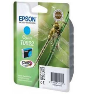 T08224A совместимый картридж для Epson Stylus Photo R270/ R290/ R390/ Photo 1410, RX590. Cyan (20