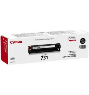 Canon Cartridge 731H Black [6273B002] Картридж черный для Canon LBP 7100Cn/7110Cw/  i-SENSYS MF8230Cn/ MF8280Cw/ MF623Cn/ MF628Cw (2400 стр)