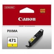 CLI-471Y [0403C001] Картридж Canon желты...