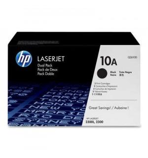 Q2610D HP 10A Двойная упаковка картриджей Q2610A для HP LJ 2300 ( 2*6000 стр.)