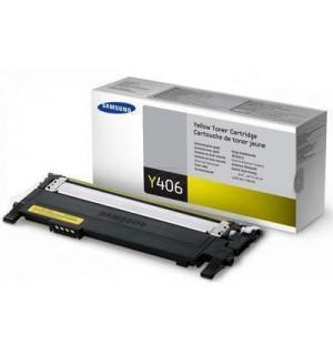 CLT-Y406S Тонер-картридж Samsung для CLP-360 / 365 / 368 / CLX-3300 / 3305 Yellow