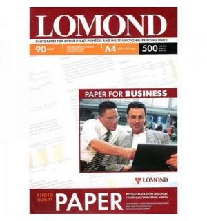 090 Бумага LOMOND A4 INC JET 90 г/ м2 500 л. матовая односторонняя [0102131]