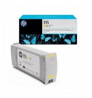 B6Y10A/ CE040A HP 771 Картридж желтый для плоттера HP DesignJet Z6200, Z6600, Z6800 (775 ml) Yellow