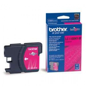 LC-1100 HYM Картридж для Brother DCP385C, DCP-6690CW (750 стр.) Magenta