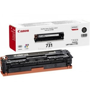 Canon Cartridge 731 Black [6272B002] Картридж черный для Canon LBP 7100Cn/7110Cw/  i-SENSYS MF8230Cn/ MF8280Cw/ MF623Cn/ MF628Cw (1400стр.)