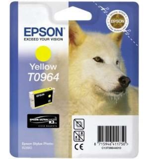 T0964 / T09644010 OEM Картридж EPSON Stylus Photo R2880 Yellow