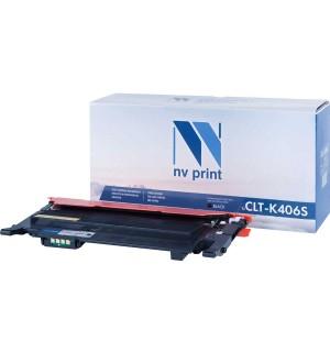 CLT-K406S совместимый Картридж NV Print для Samsung CLP-360/365/CLX-3300/3305  Black