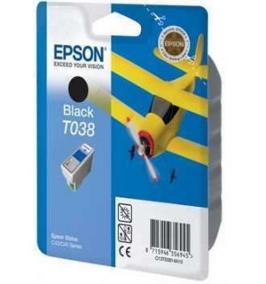 T038 / T03814A Картридж для Epson Stylus Color C43/ C45 Black  (330стр.)