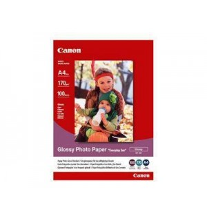 GP-501 Бумага Canon Glossy Photo Paper, глянцевая, A4, 170 г/ м2 (100л.) 0775B001