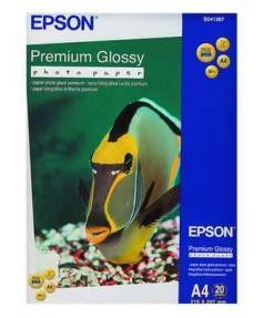 S041287 Бумага Epson Premium Glossy Photo Paper, A4, 255г/ м2, (20 л.)