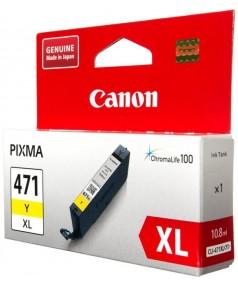 CLI-471Y XL [0349C001] Картридж Canon желтый для PIXMA MG5740, 6840, 7740 (11мл., до 715 страниц)