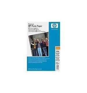 Q5436A HP Satin-Mat Premium Photo Paper. Матовая атласная бумага повыш. кач, 10х15, 240 г./ м2, (20