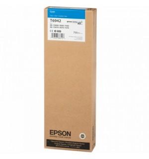 T6942 / T694200 XXL Картридж для Epson SureColor SC-T3000/ T5000/ T7000 ( 700 ml ) Cyan