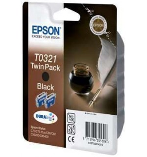 T0321 / T032140 Картридж для Epson Stylus Color C70/ C70+/ C80/ C82/ CX5200 Black (868 стр.)