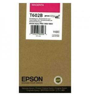 T602B / T602B00 Картридж для Epson Stylus Pro 7800/ 9800, Magenta (110 мл.)