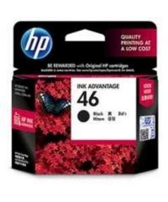 CZ637AE HP 46 Картридж черный для Deskjet IA 2520hc/ 2020hc (1500 стр.)