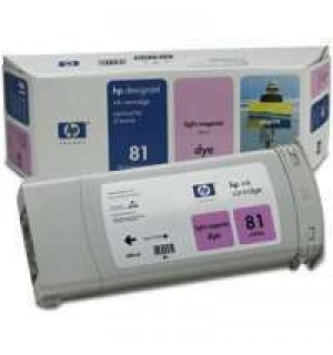 C4935A HP 81 Картридж Light-Magenta для плоттеров HP DesignJet 5000/ 5000ps/ 5500/ 5500ps. (680 ml)