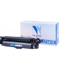 CF361X Картридж NV Print голубой, совместимый (9500стр.)