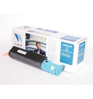 S050189 Совместимый картридж NV print для Epson AcuLaser C1100, CX11N/ CX11NF Cyan (4000стр.)