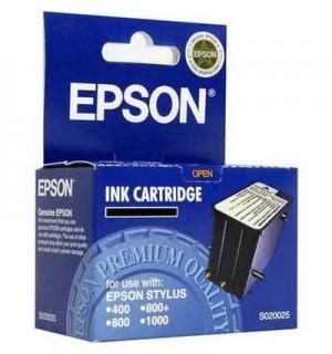 S020025 Картридж Epson черный / black OEM  Stylus 400/ 800/ 800+/ 1000